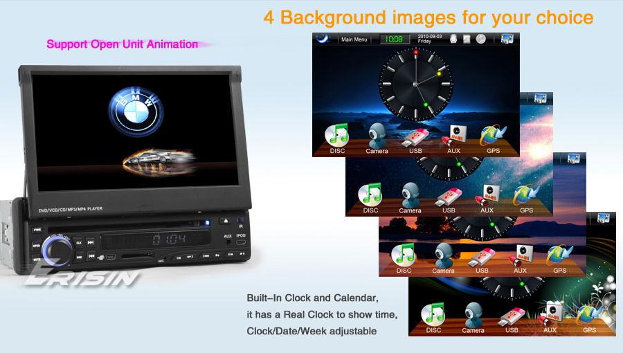 ES830EU 7 1 Din In Dash HD Car DVD Player GPS Sat Nav TMC DVB T PiP