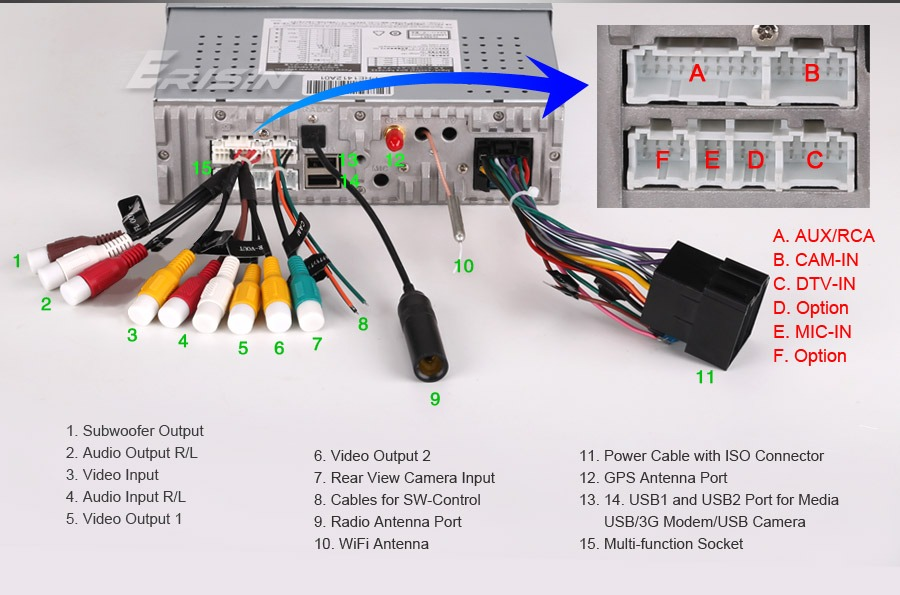overhead entertainment system wiring diagram 8990us 7