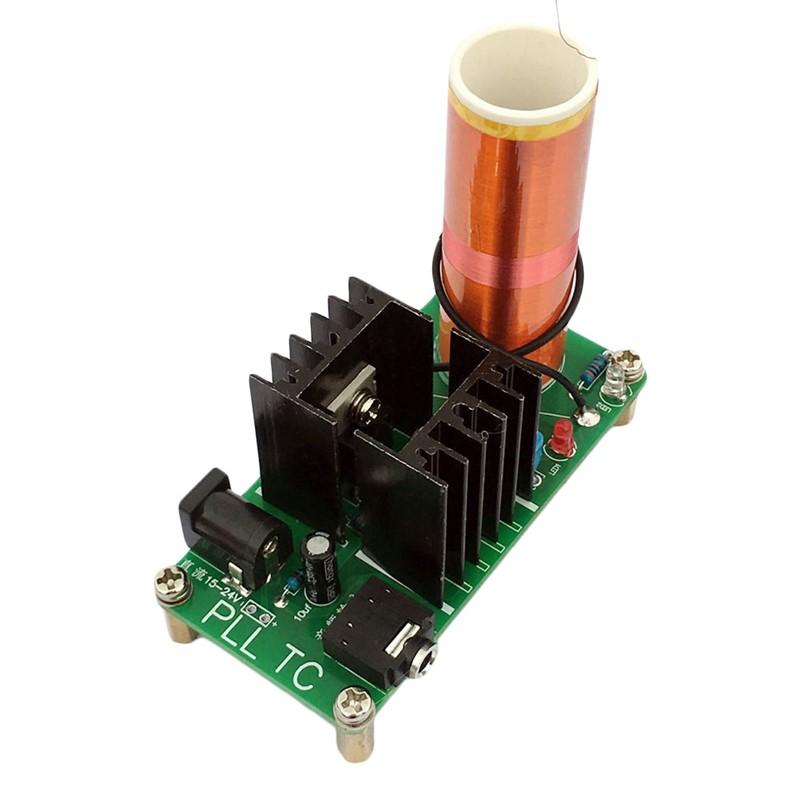 Details about 15W DIY Mini Tesla Coil Plasma Speaker Set Electronic Field  Music Project Parts