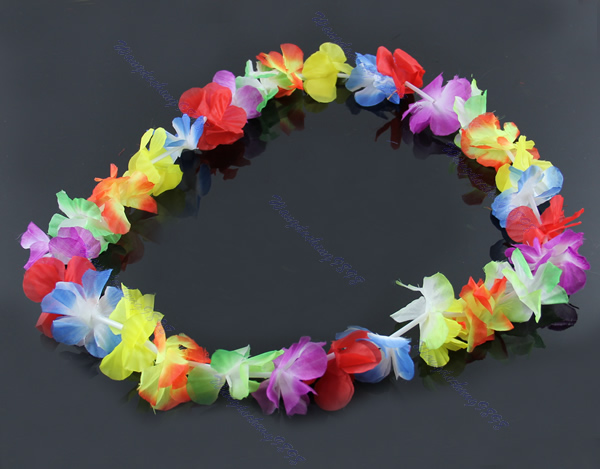 buy hawaii hawaiian product flower detail lei garland fans leis football necklace