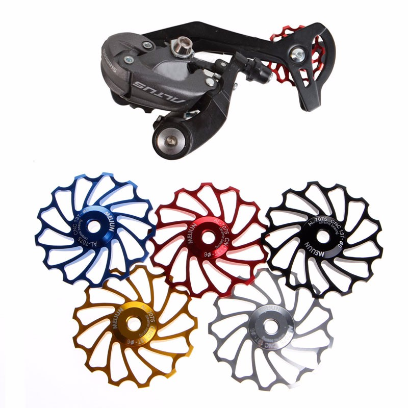 5Colors 13T Road Bike Jockey Wheel Ceramic Bearing Rear Derailleur Guide Pulley