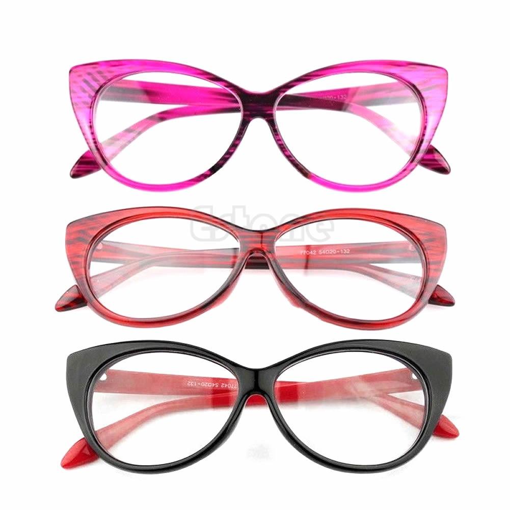 4958758d2f Retro Y Women Eyegles Frame Fashion Cat Eye Clear Lens Las Gles