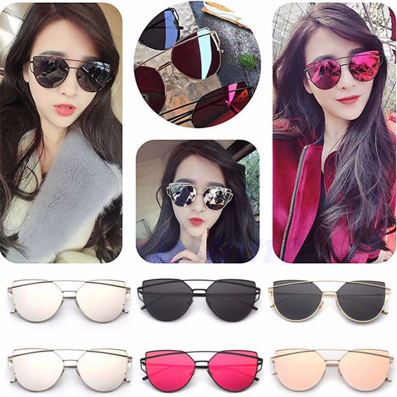 great look hot products purchase cheap Details about New Fashion Womens Retro Designer Sunglasses Mens Outdoor  Sports Glasses Eyewear