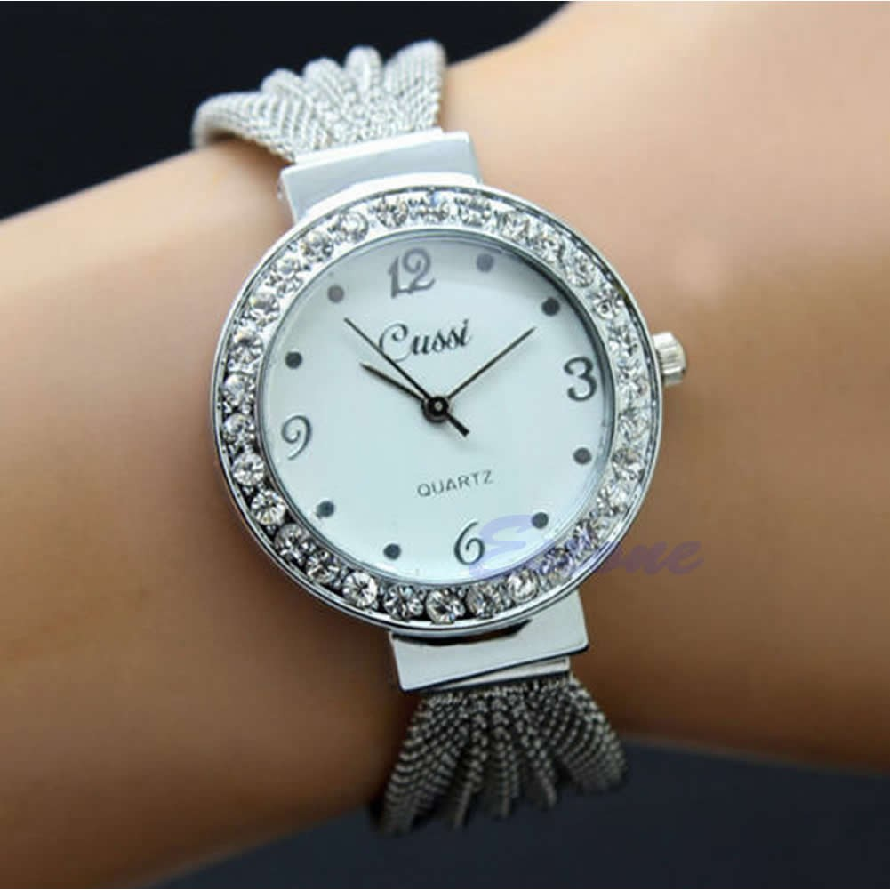 gift valentines crystal swarovski stainless womens quartz watches steel details accented for itm