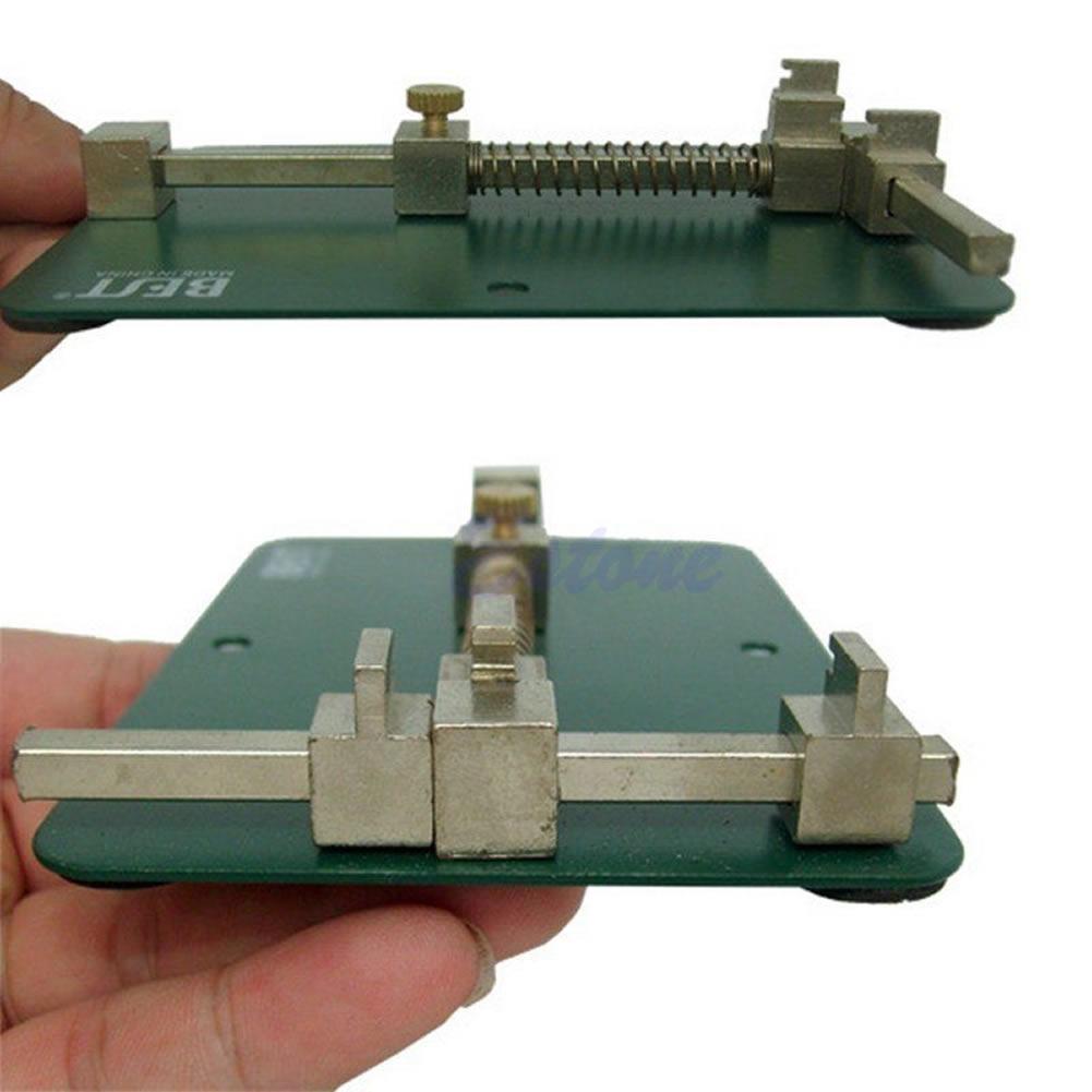 Universal Pcb Holder Fixtures Mobile Phone Repairing Soldering Iron Circuit Board Repair Tool Dark Green 1 X