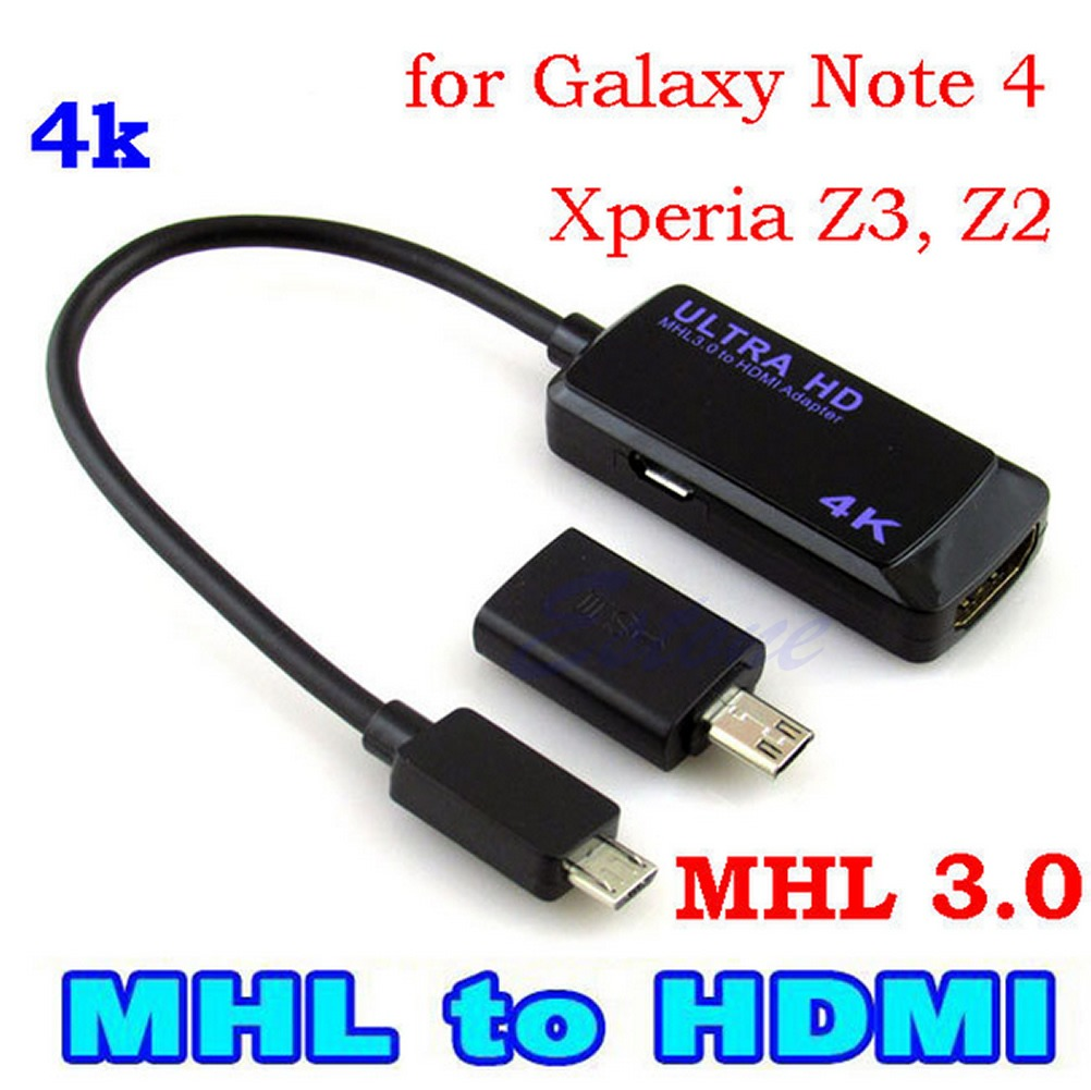 Mhl3 0 To Hdmi 2k 4k Cable Adapter For Samsung Galaxy Note