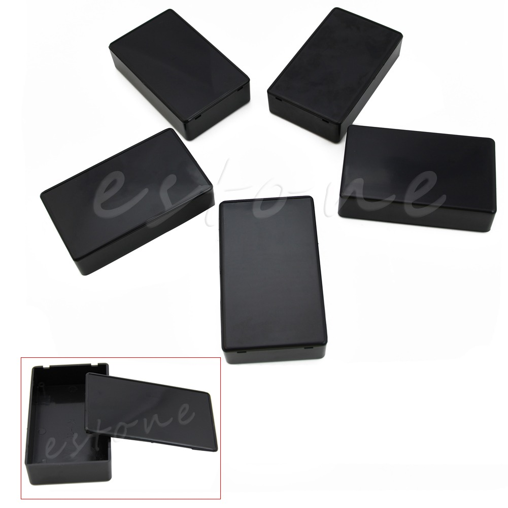 5PCS Plastic DIY Electronic Project Box Enclosure Instrument Case 100x60x25mm LJ