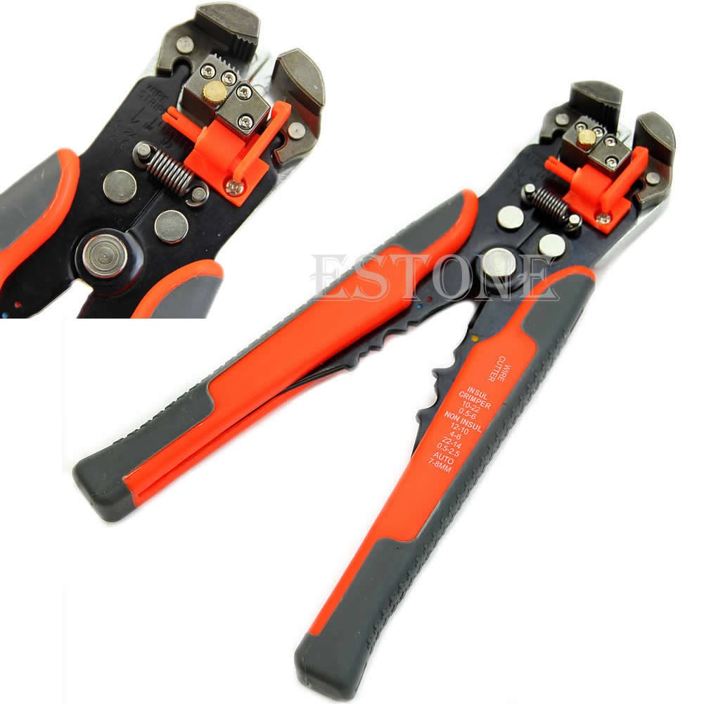 Multifunctional Automatic Wire Stripper Crimping Pliers Terminal ...