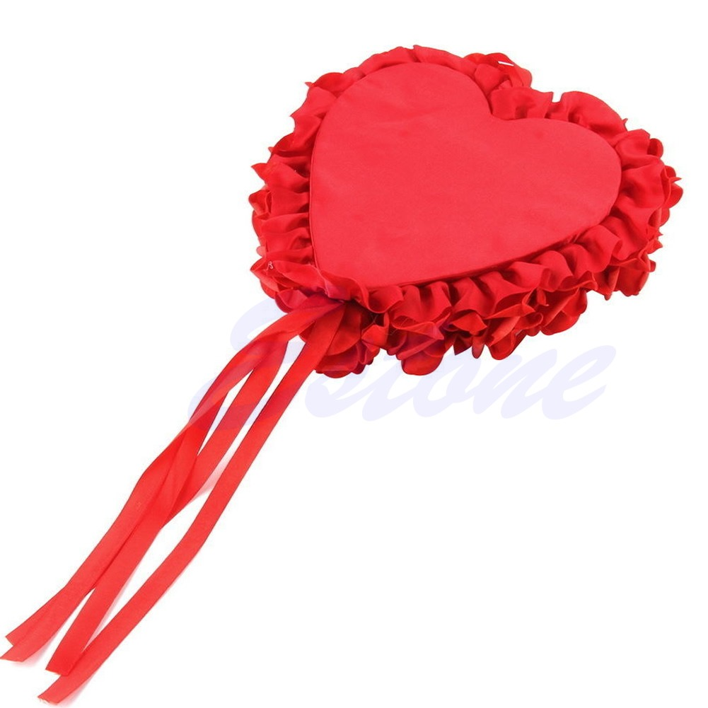 Romantic Rose Wedding Favors Heart Shaped Jewelry Gift Ring Box ...