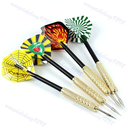 12Pcs Steel Needle Tip Copper Dart Darts With Nice Flight