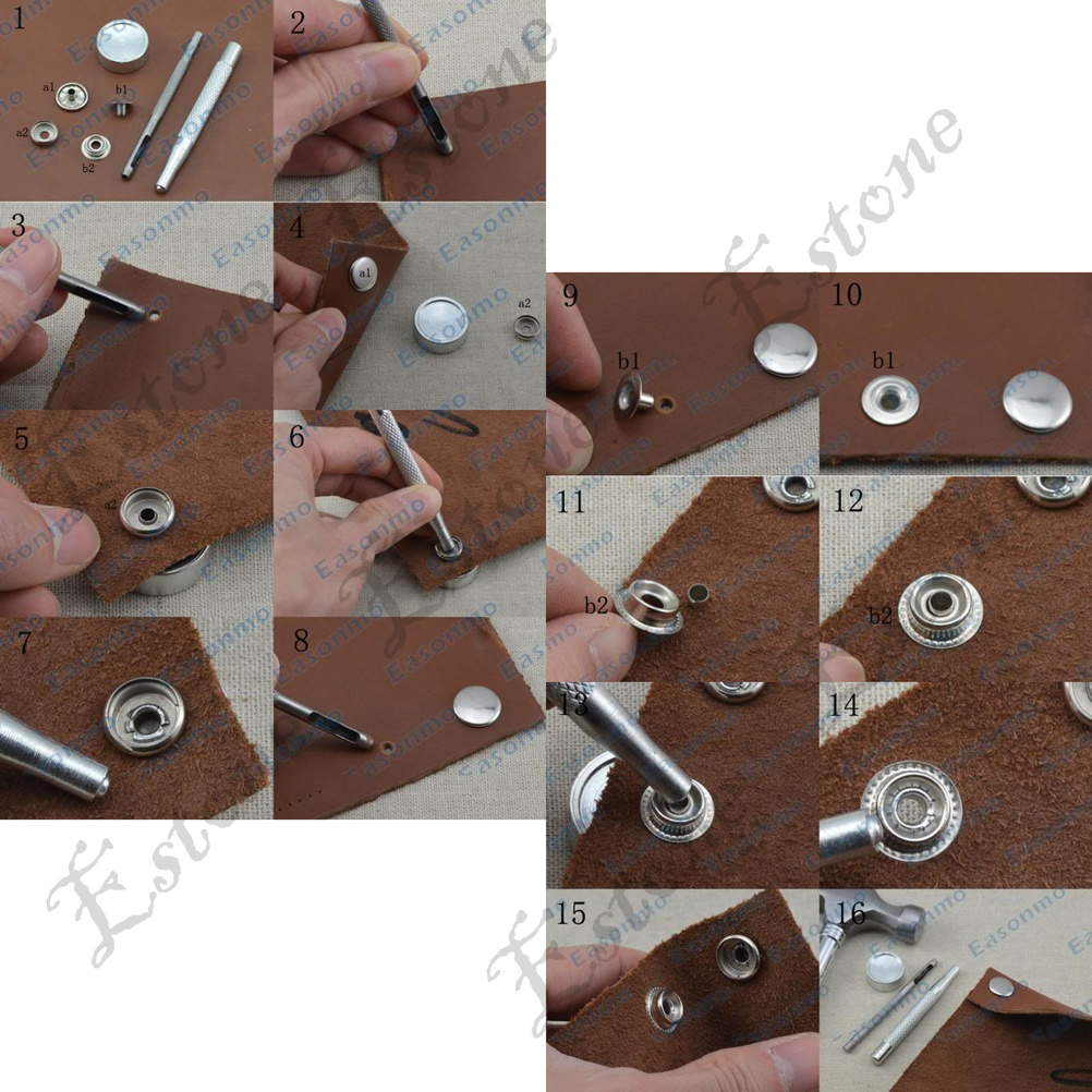 How To Install Craft Press Stud Button