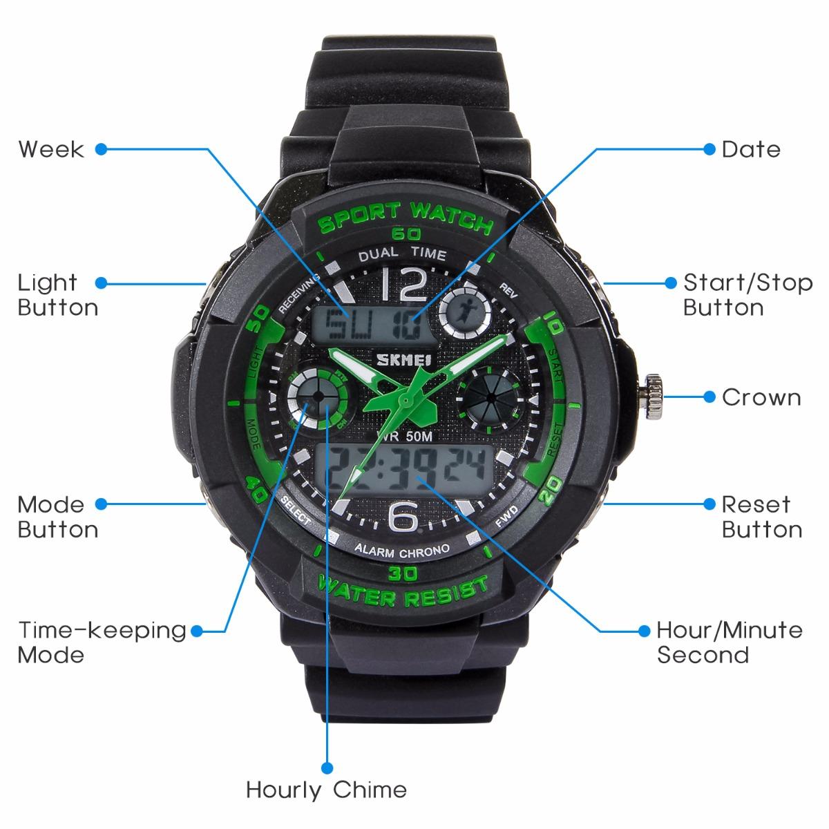 4616ec1328d Hiwatch Kids Watches Boys Girls Waterproof Sports Digital Wrist Watch for  Youth