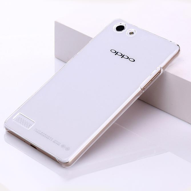 reputable site ad433 9fc6f Details about For Oppo Neo7 A33 Clear Transparent hard case DIY back cover