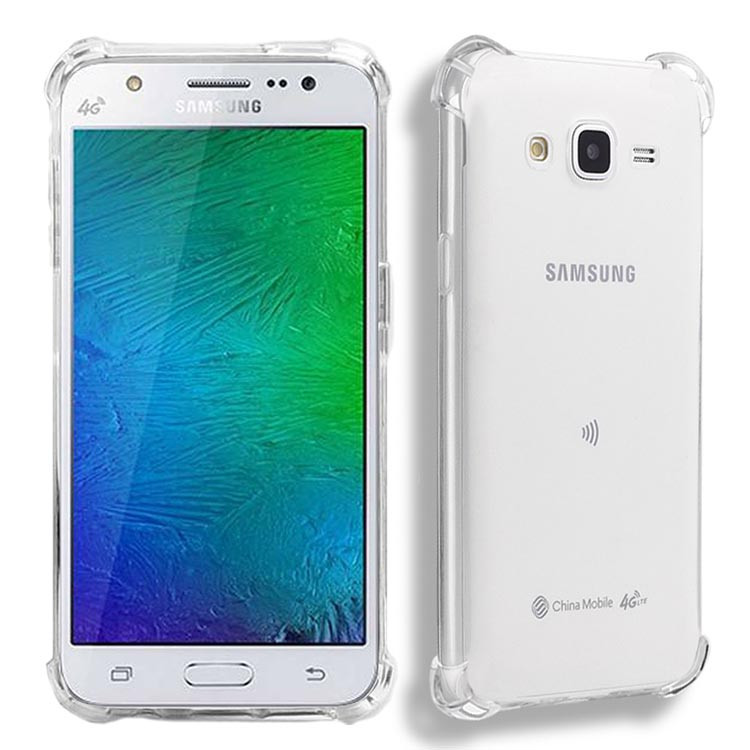 huge discount 83708 65c0e Details about 2x Anti Impact Clear Gel Case Cover For Samsung Galaxy J7 Nxt  J7 Neo J7 Core