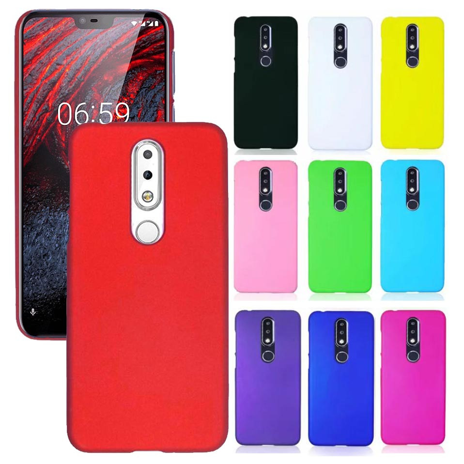 Details about For Nokia 6 1Plus X6 Nokia 7 1 Plus Snap On Matte hard case  Back cover