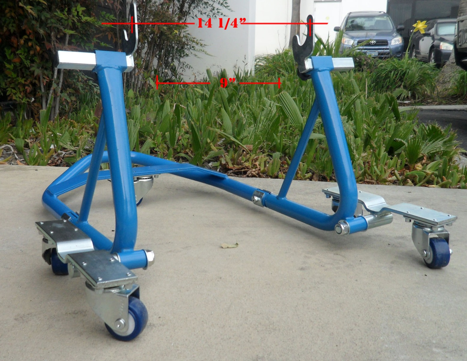 Motorcycle Sport Bike Atv Stand Front Rear Wheel Stand
