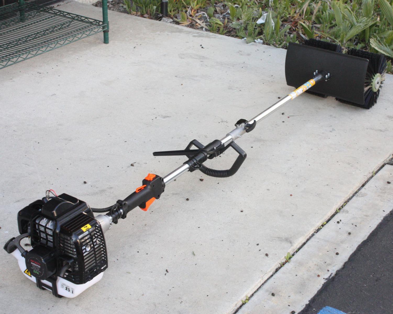52cc Gas Power Hand Held Walk Behind Sweeper Broom