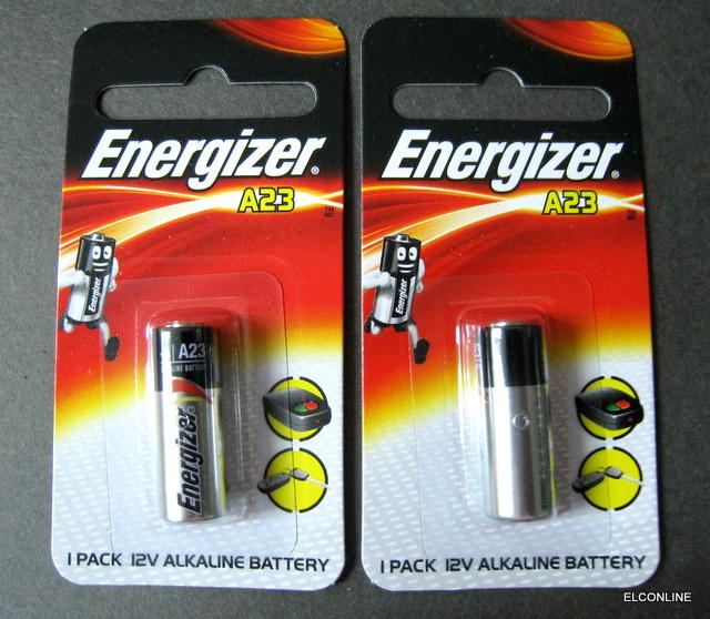 Energizer A23 23a 12v Car Door Bell Remote Battery
