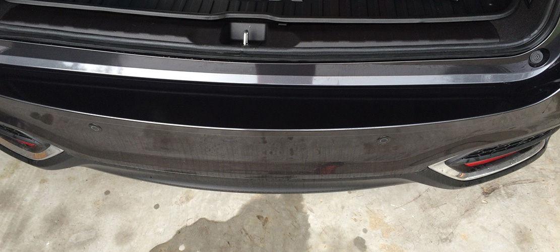 "3T Ultimate PPF 60/"" x 6/"" Rear Bumper Applique Trunk Clear Bra DIY for Volvo"