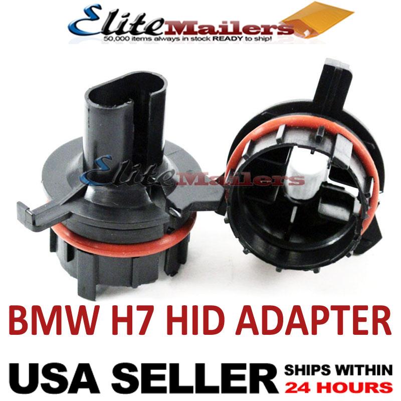Bmw E39 1997 2000 H7 Xenon Hid Bulb Adapter Converter