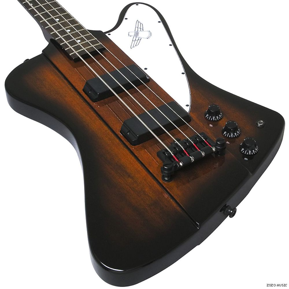 gibson epiphone thunderbird iv 4 string electric bass guitar vintage sunburst ebay. Black Bedroom Furniture Sets. Home Design Ideas