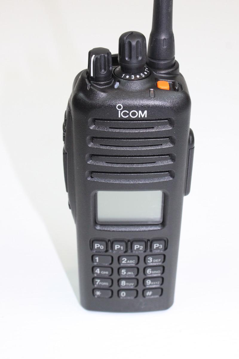 25 F80T UHF 400-470 Mhz 256 Channels 4W Full Keypad MDC Icom IC-F80T
