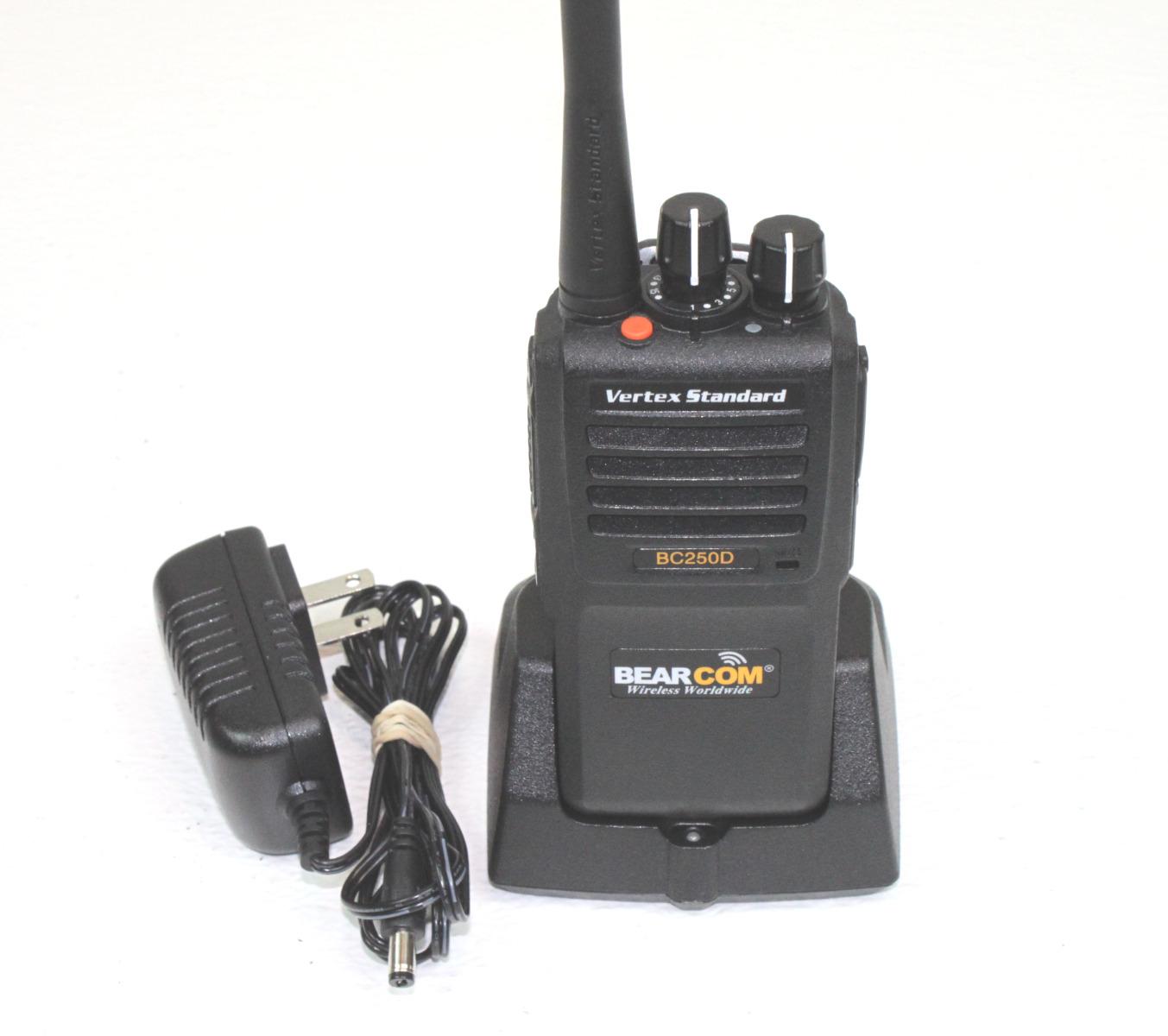 Bearcom BC250D UHF Digital Portable Two-Way Radio