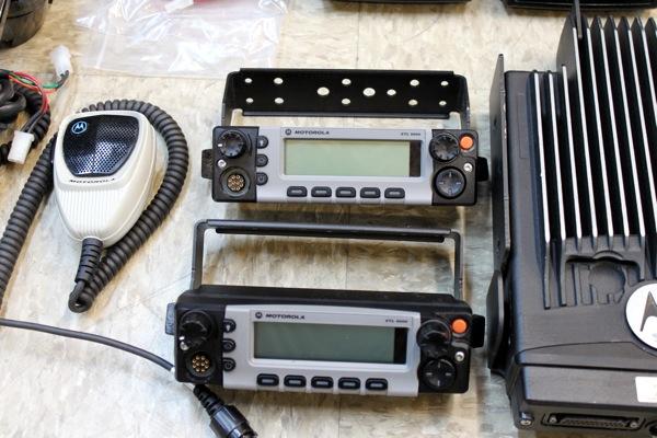Motorola Xtl5000 Xtl 5000 Vhf Dual Head Ambulance Fire Ebay