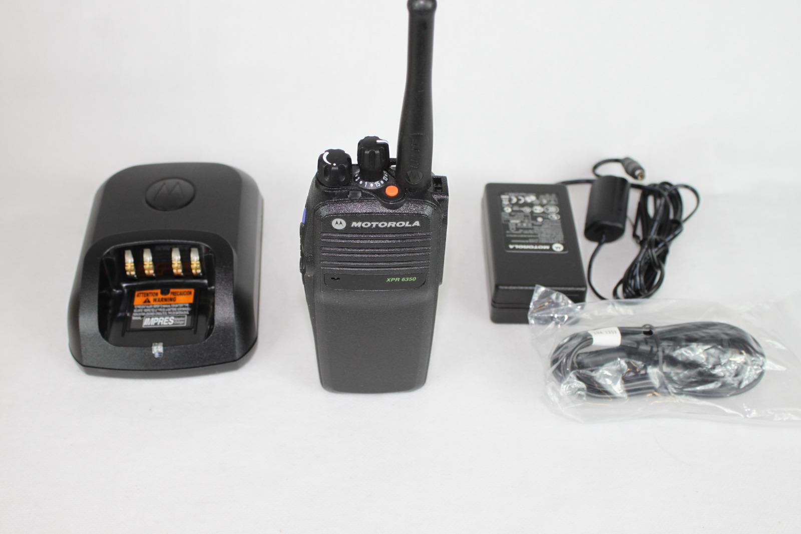 Motorola XPR6350 XPR 6350 TRBO 403-470 32 CH AAH55QDC9LA1AN