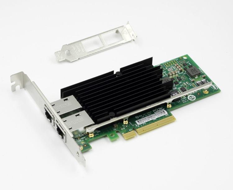 NEW Intel X540-T2 10G PCI-Express Dual RJ45 Ports Ethernet Network Adapter