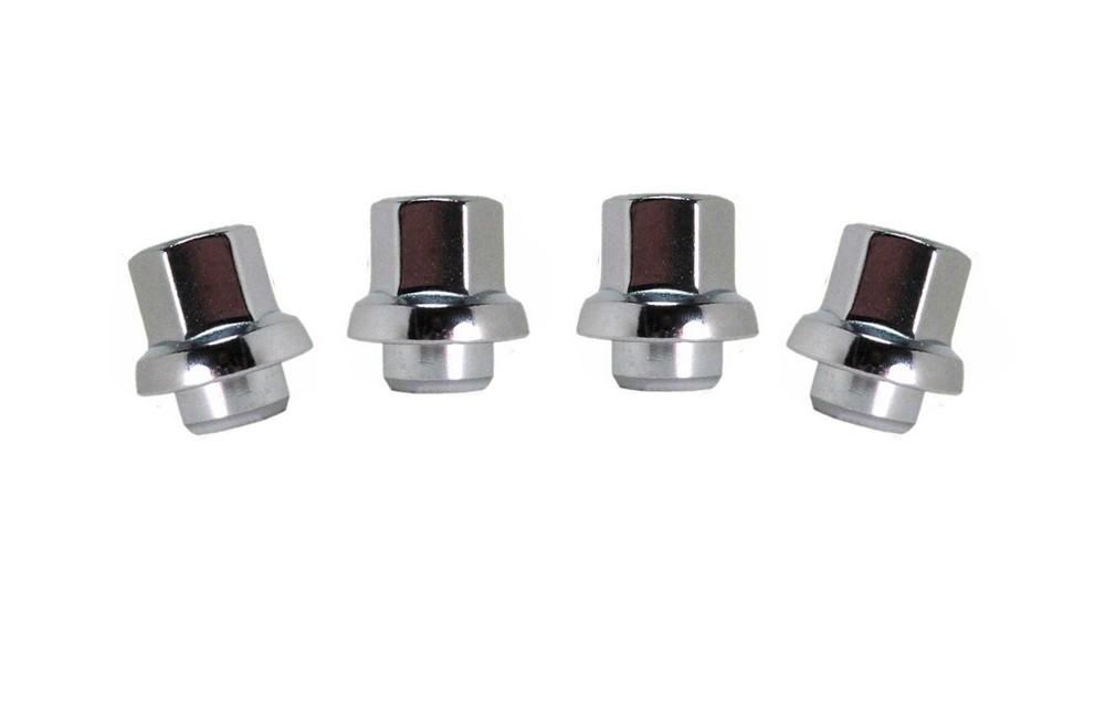20 Snowflake Lug Nuts 7//16-20 For 1977-1981 Trans Am Firebird Pontiac Chrome