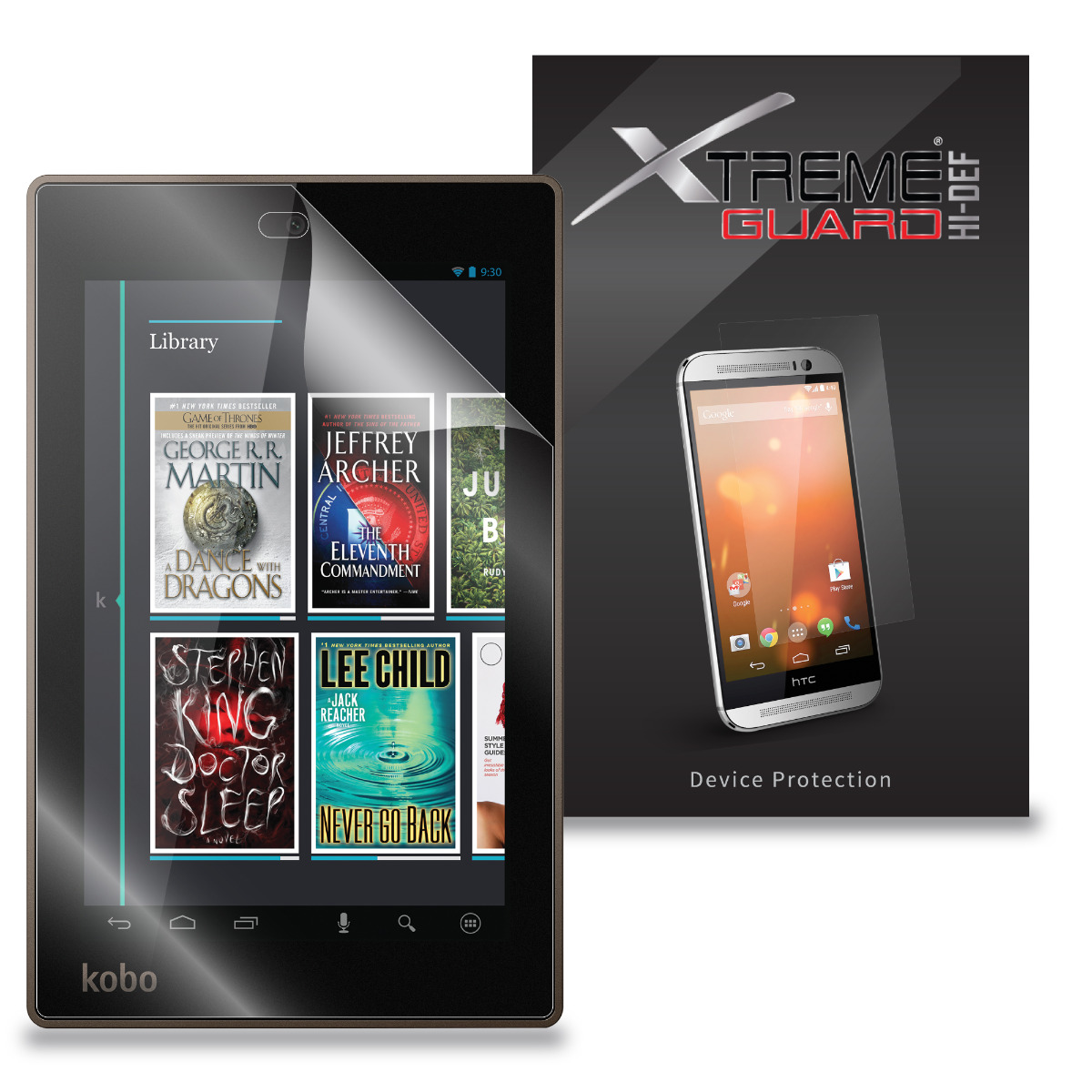 """3 Pack Clear Tablet Screen Protector Guard For 7/"""" Kobo Arc 7"""
