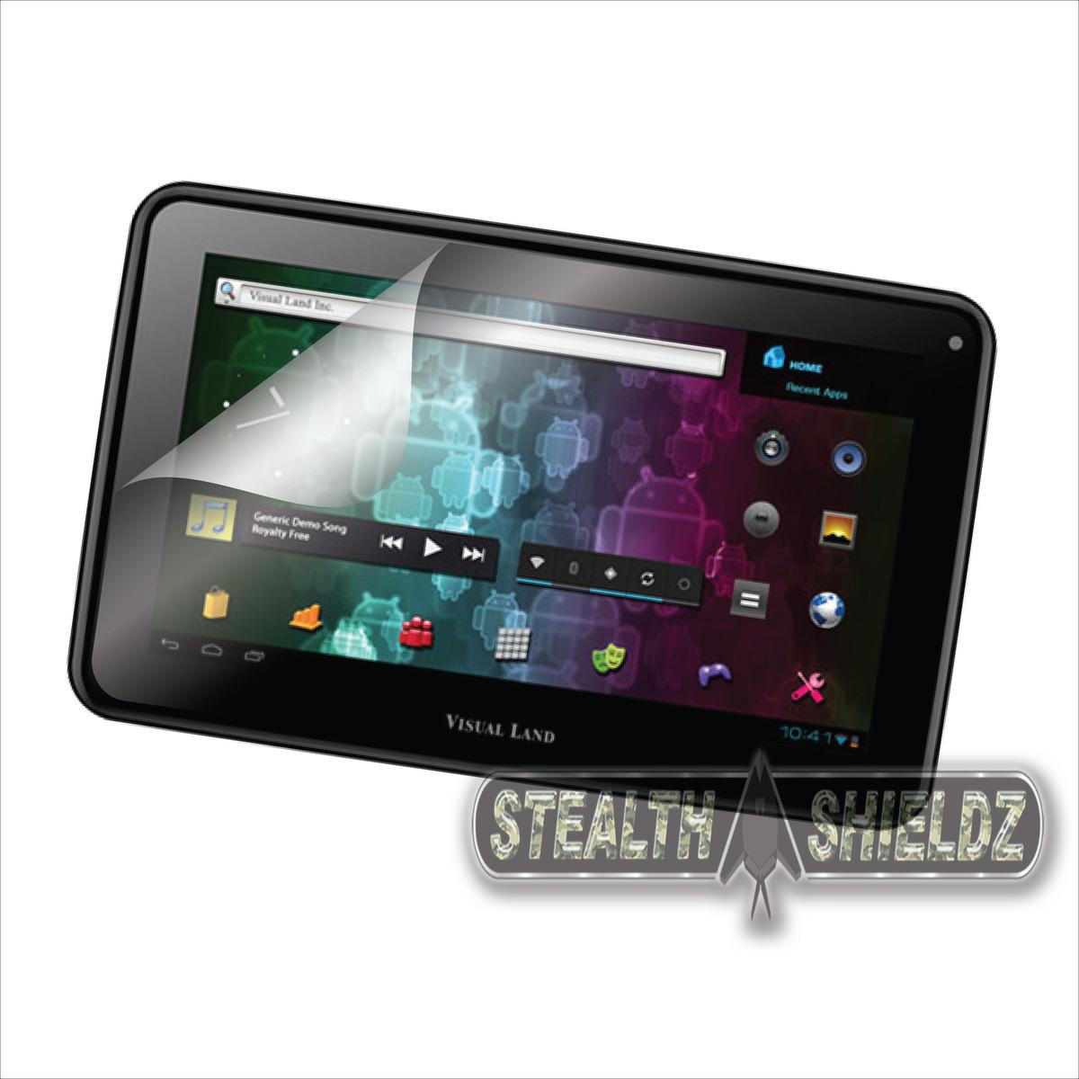 2 Pack s Shieldz Screen Protector for Visual Land Prestige 7L Internet Tablet