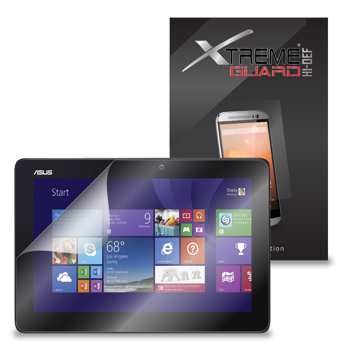 3-Pack Clear HD XtremeGuard HI-DEF Screen Protector Cover For HP Pavilion 10 X2