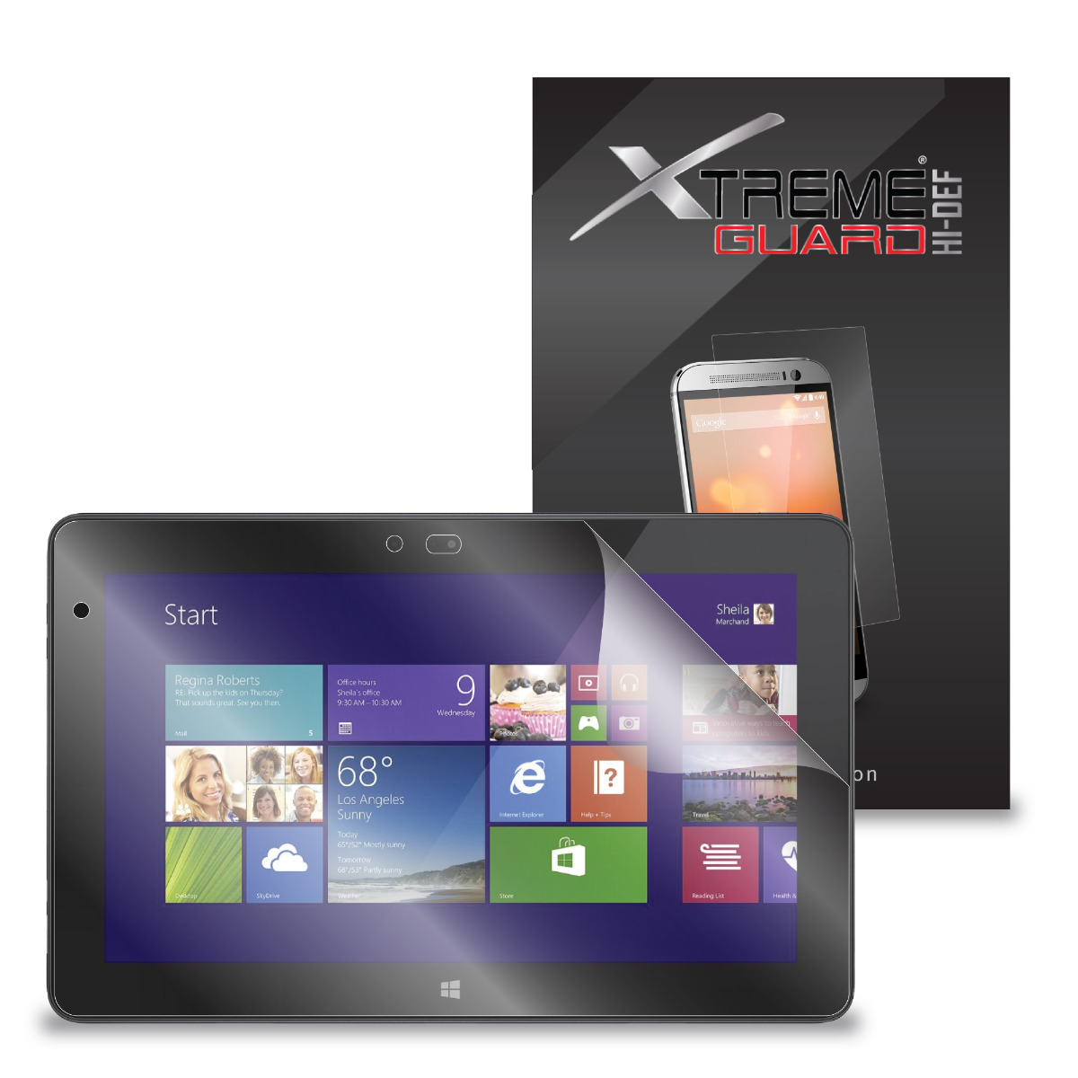 """10.8/"""" 5 Pack Clear Tablet Screen Protector Guard For Dell Venue 11 Pro 7000"""