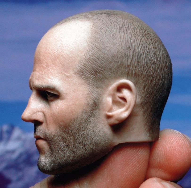 GACTOYS 1//6 Jason Statham  Head Carving GC023 Soldier Male Head Sculpt