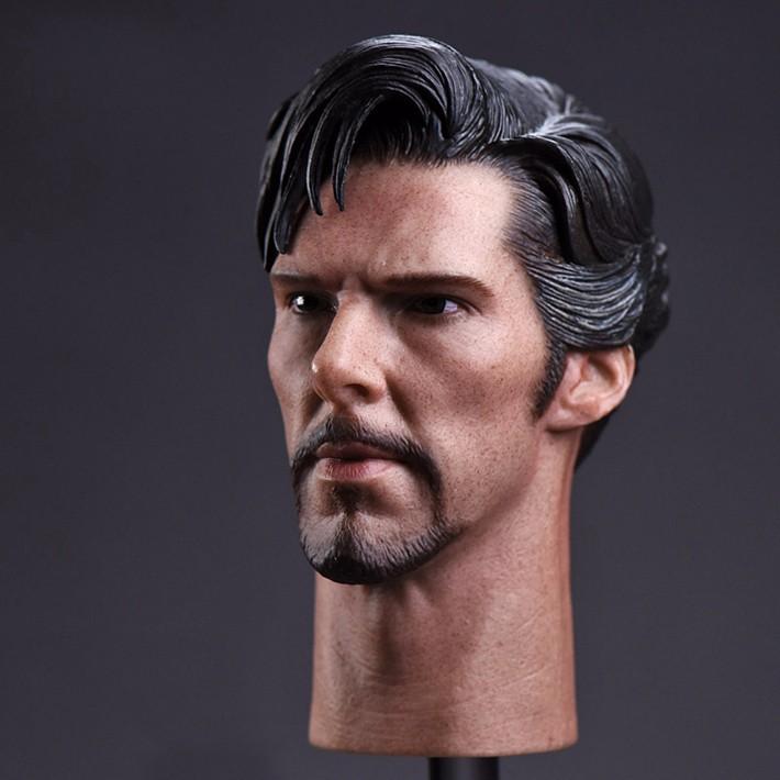 1:6 Benedict Cumberbatch Sherlock Head Sculpt Model F 12/'/' Male Action Figure