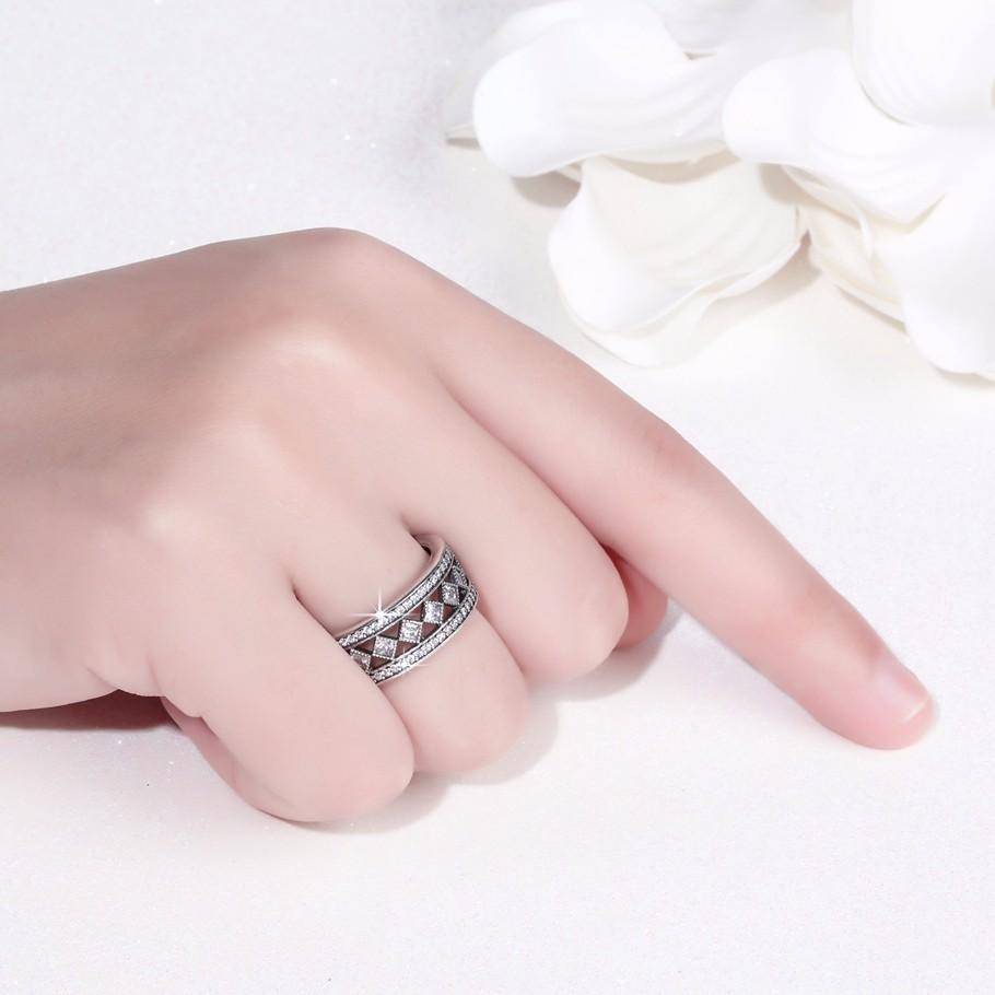 Hot Design Luxury Zircon Gemstone 925 Silver Fashion Wedding Jewelry ...