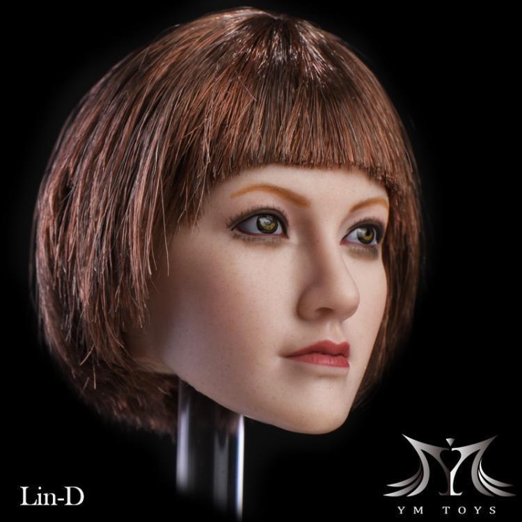 1//6 Kristen Stewart Blonde Hair Head Sculpt F 12/'/' TBLeage PH Female Figure Body