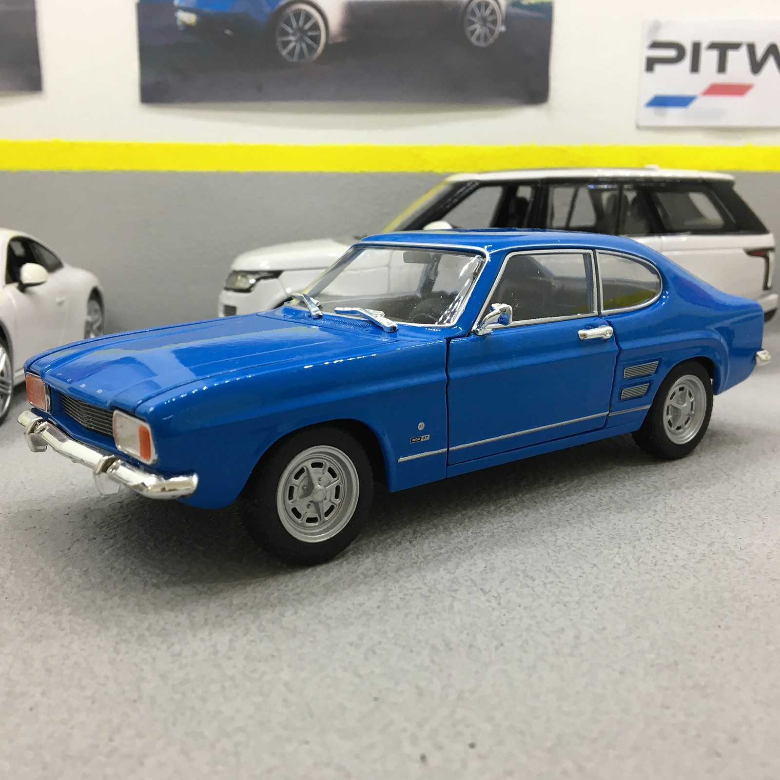 Ford capri 1969 pitwalk special offer exclusive to ebay customers