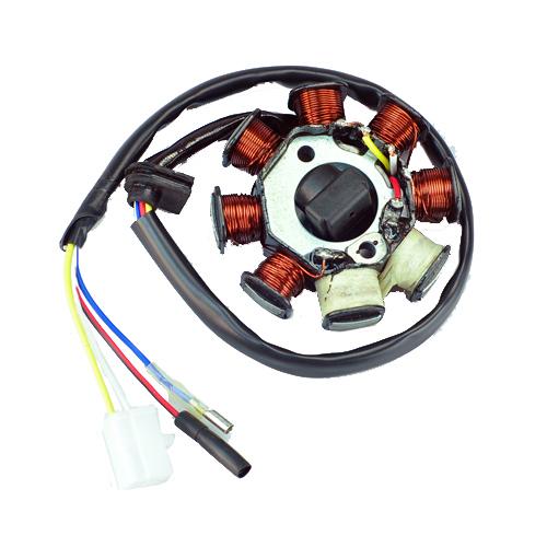 8 pole relay wiring diagram 8 pole stator wiring alternator magneto stator 8 coil 8 pole 4-wire gy6 50cc ac ... #8