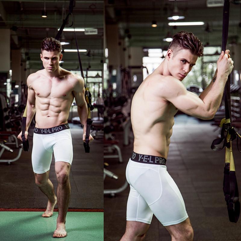 Men/'s Underwear Breathable Boxers Shorts Gym Crossfit Underpants 5 Color K402