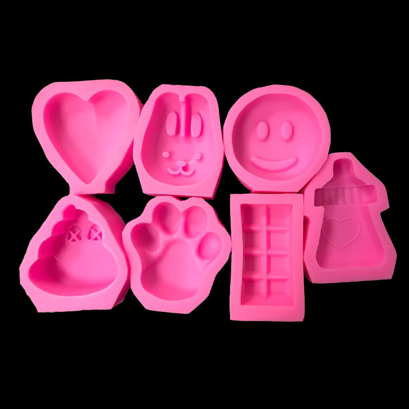 Animals Fondant Cake Silicone Mold Gum Candy Baby Shower Populai Biscuit Moulds