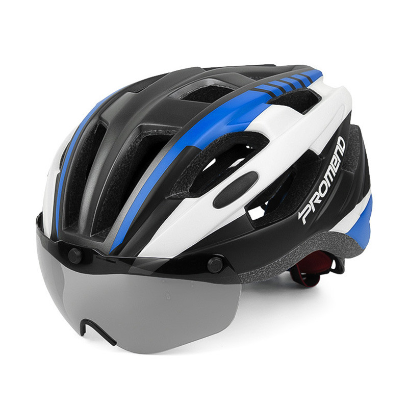 Cycle Bike Helmet W Detachable Goggles Visor Shield For Women Men