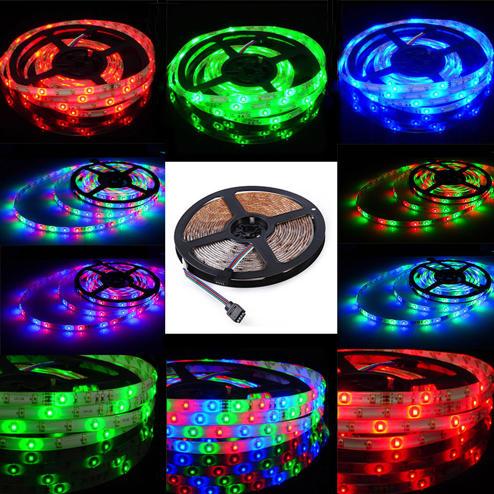 5101520m 3528 60ledsm flexible led strip lights roll rope tape 20m rgb with adapter supplyfull set 4 x 5 meter 3528 led strip rgb light 1 x 44 key ir remote controller 1 x 12v 2a power supply aloadofball Image collections