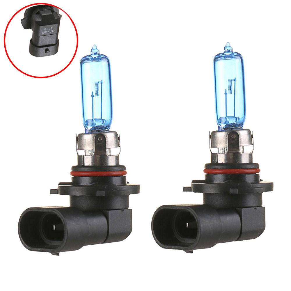 4x 9006//HB4 6000K Xenon Gas Halogen Headlight Super White Light Bulb 100W 12V