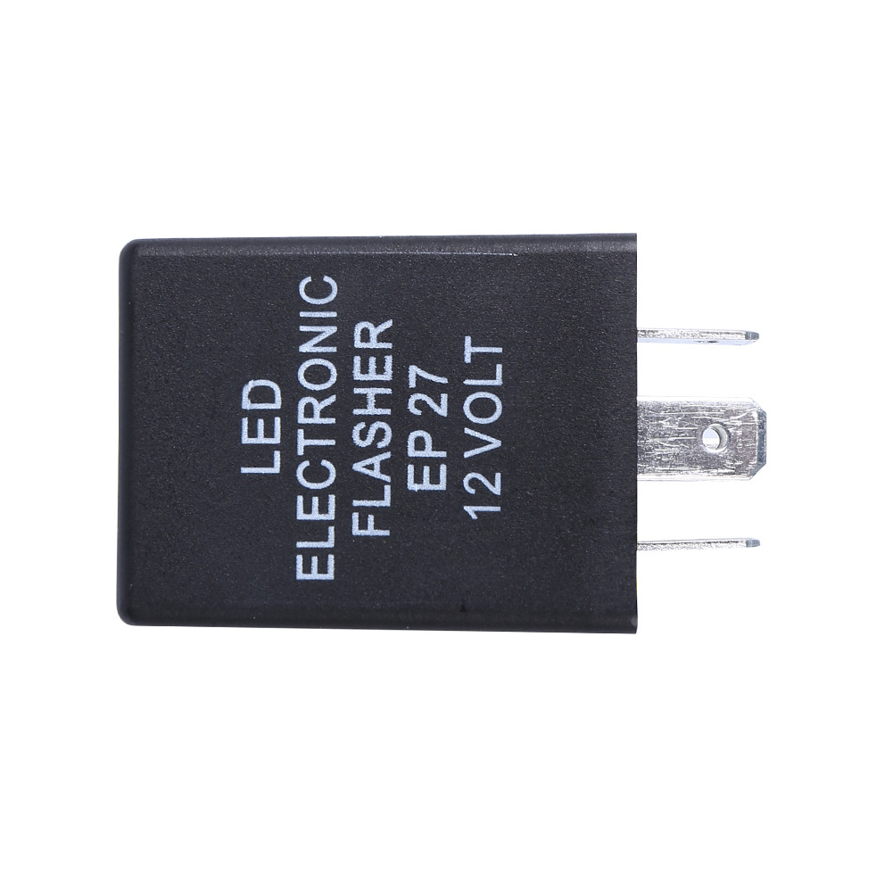 5 Pin Electronic Led Flasher Relay Fix Hyper Flash Motorcycle Turn 2 Signal Bulbs Items Description