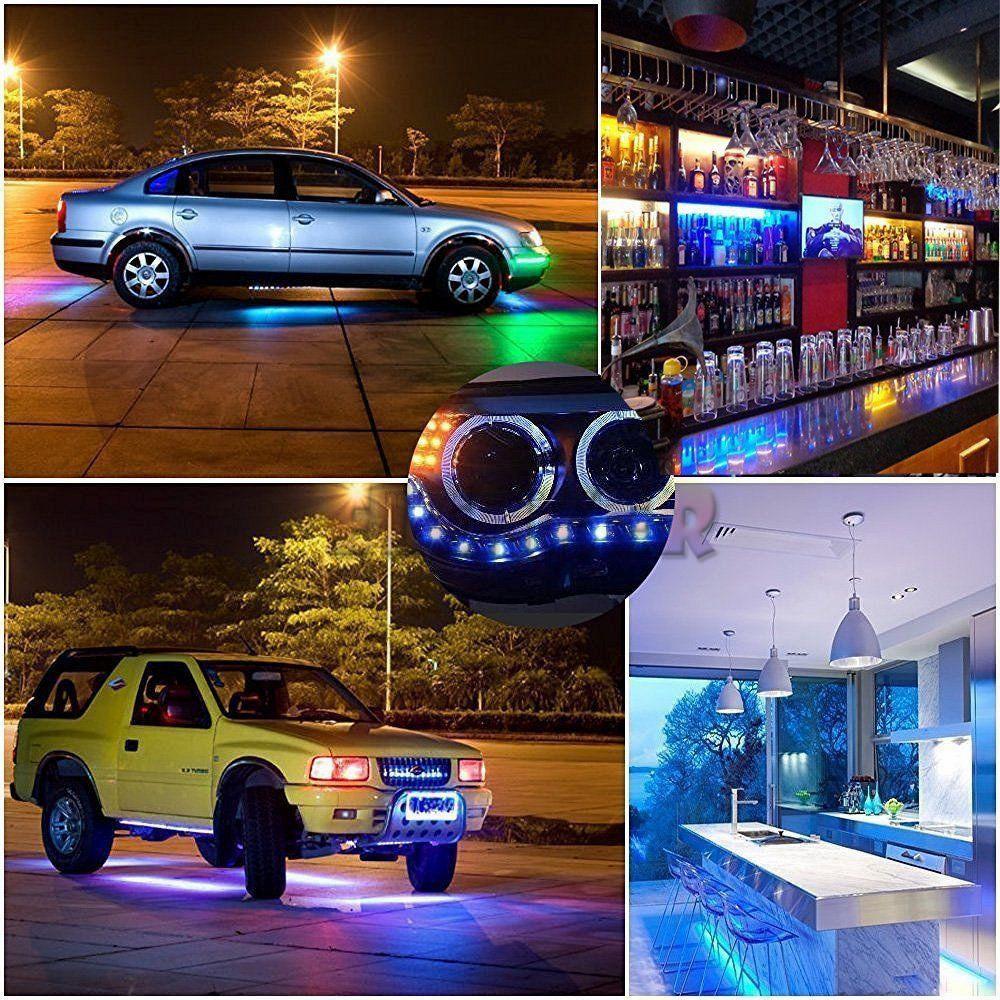 Truck 5050 LED Flexible 300leds Strip Light For Boat Car// Suv Auto Xmas