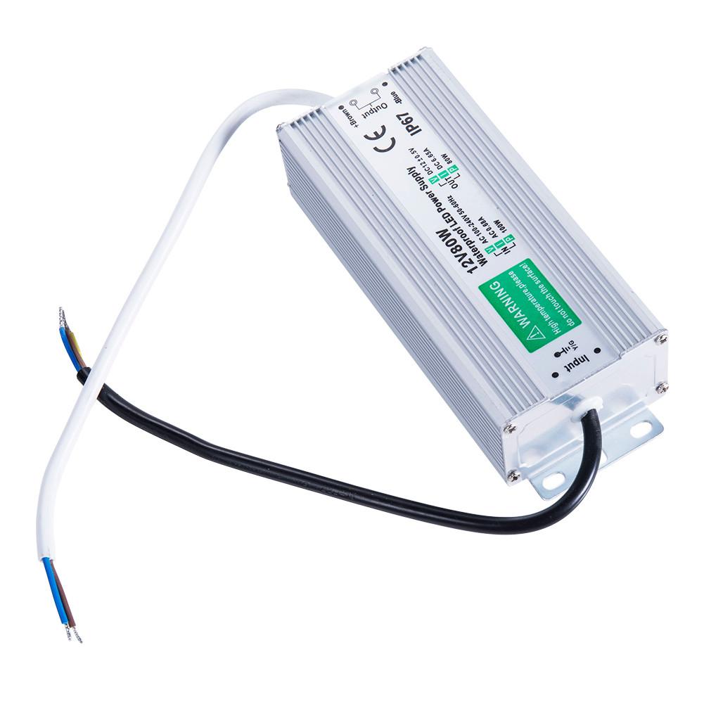Waterproof Led Driver 100 W Watt 12 V Volt Ip67 Power Supply 24v 65a Single Output Items Description