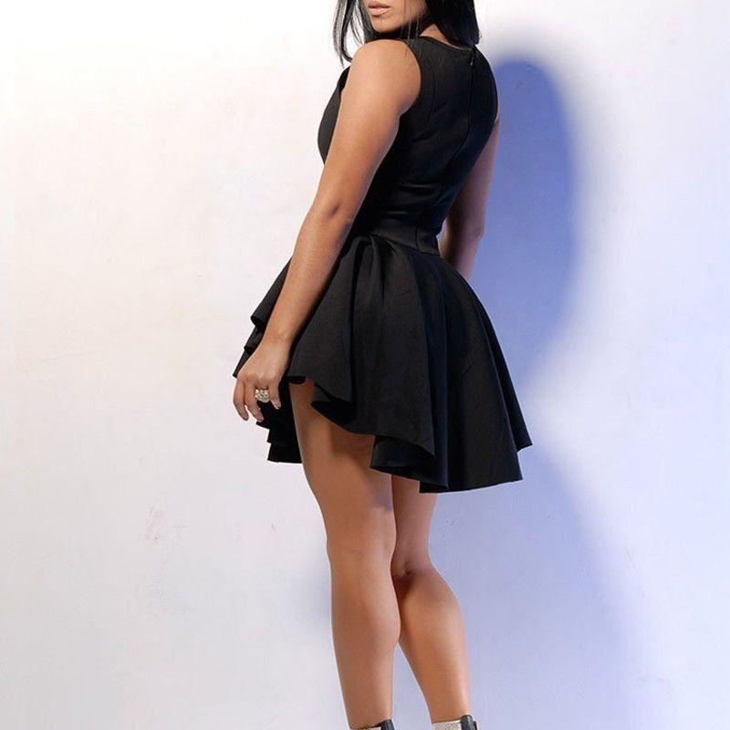 f49b4f59670 Hot! Sexy Women's Slim Fit Dress Clubwear Evening Cocktail Short Mini Dress    eBay